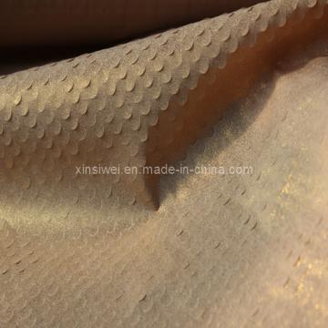 Crepe Chiffon Stoff mit gestanzten und Stanzen (SL12045)