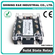 SSR-T40DA-H CE genehmigt mit schwarzer Farbe 3-Phasen-Halbleiterrelais