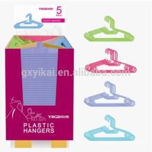Горячие продажи сильных толстых пластиковых вешалка для одежды