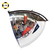 Espejo antirrobo circular de 90 grados usado para la tienda