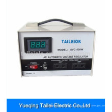SVC high efficiency full automatic home voltage stabilizer