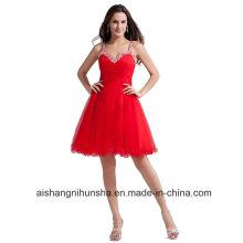 Трапеция homecoming платье с бисером тюль Пром платье