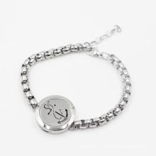 Nouvelle Arrivée Aromathérapie Huiles Médaillon pour Bijoux de Bracelet De Mode