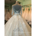 Alibaba embroidered beaded mother of the bride wedding dress gown