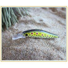 MNL025 7.5 CM, 3G, Minnow Sea Bass Orgia Isca De Pesca Dura