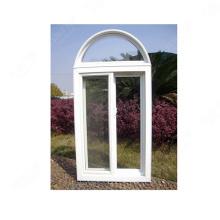 fenêtre en arc en verre imperméable à l'eau en verre à double trempe