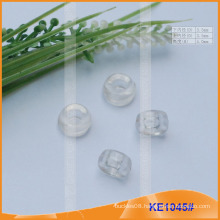 Fashion Plastic cord end or bead for garments KE1045#