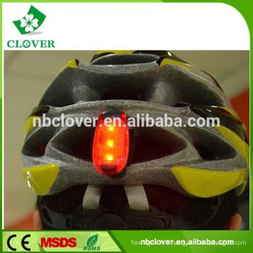 Lumière de casque à 3 led, éclairage de casque à vélo, casque de vélo avec éclairage