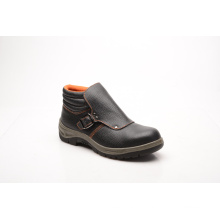 Casual Style Split Embossed Leather & PU Safety Shoes (HQ01052)