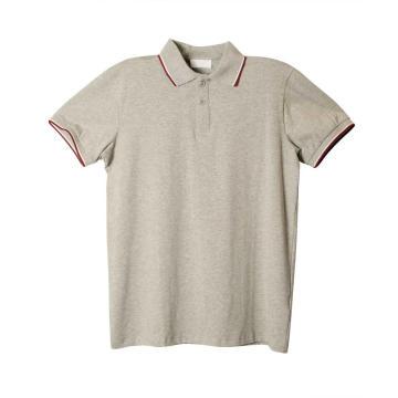 Camisa polo masculina de manga curta