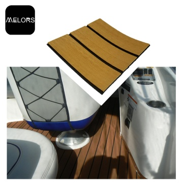 EVA Foam traction Piso para barcos Faux Teak Sheet