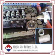 Cadena de producción de máquina corrugada del tubo del PVC del PE