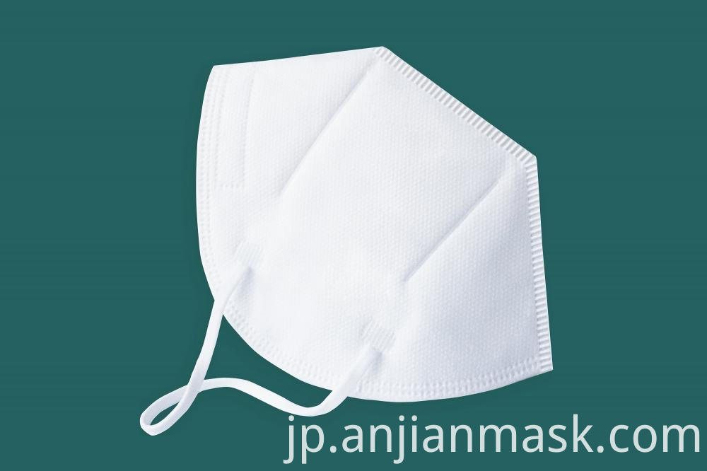 Non-Woven Disposable Protective Face Kn95 Mask