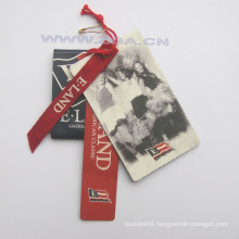 Paper Hang tag, price tag, paper label For Fashion Garments