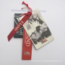Бумага Hang tag, ценник, бумажная этикетка для модной одежды