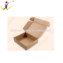 Custom logo!China professional manufacturer craft paper box,brown kraft paper box
