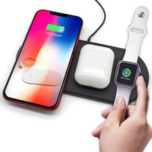 Fast wireless charger compatible for QI devices