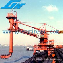 Непрерывный разгрузочный корабль для разгрузочного бункера 600 т / час до 1200 т / ч