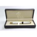 Металлическая толстая роликовая ручка с перьевой ручкой
