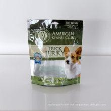 Qingdao Factory Composite Film PP PE HDPE Pet VMPET Three Side Sealing Aluminum Foil Pet Food Bag