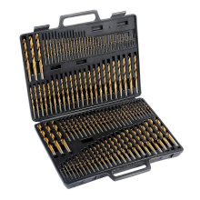 Diamond Core Drill Bit Set in Metal Case