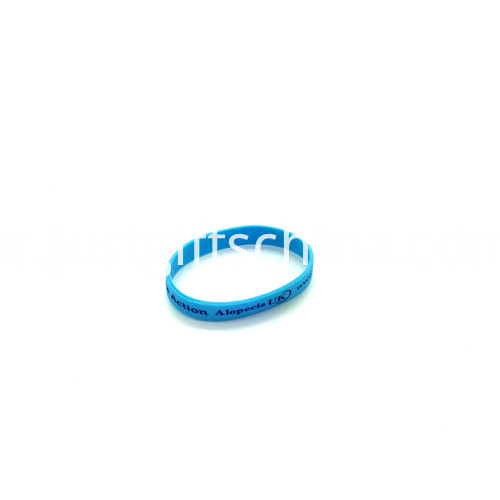Promotional Debossed Color Infill Silicone Wristbands-180122mm1