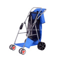 Outdoor Portable Four-wheel Collapsible Camping Beach Fishing Cart