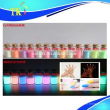 Photolumineszentes Pigment für Kosmetika, Nagellack etc