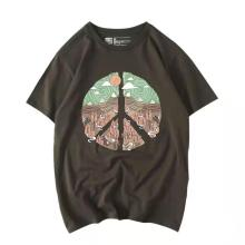 T-shirt à manches courtes pour femmes avec imprimé