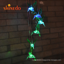 Solar Lamp Color Changing LED Wind Chimes Hanging Lights Outdoor Indoor Solar Lights Decors for Home/Yard/Patio/Garden
