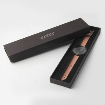 Pembungkusan Hadiah Hitam Hard Box Watch Box
