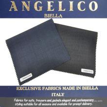 Tecido de fato de lã italiano para homem de negócios