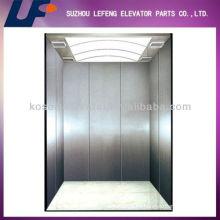 Precio barato de la línea de acero inoxidable ascensor de pasajeros