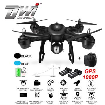 DWI Dowellin 2019 Dual GPS FPV Mini Drone With Wide Angle 1080P HD Camera