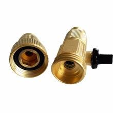 Wasserschlauch passend Rohr Rohr Montage Werkzeuge Messing Fitting