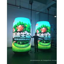 Innovative Dosen LED-Anzeige