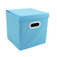 Wholesale large custom home toy print acrylic non-woven foldable hanging storage box bag