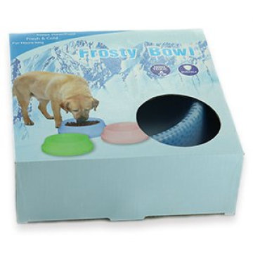 Alimentador de agua Feeder Pet Frosty Bowl