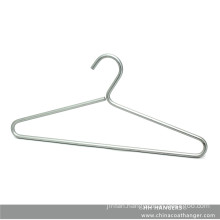 8mm Diameter Aluminium Fashion Metal Wire Coat Hangers