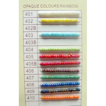 Glass Seed Bead RAINBOW-COLOR-ROUND-BEADS-1