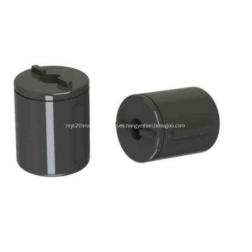 Amortiguador plástico del barril de la bisagra para el espejo cosmético auto