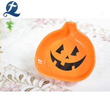 Handgemalte Halloween Kürbis Dekoration kleine Keramikschale