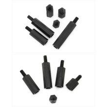 OEM Hobbycarbon Black Nylon Kunststoff männlich zu weiblichen Sechskant oder runden Abstandshalter