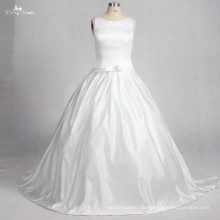 TW0178 Luxury Stain Detachable Bow Ball Gown Wedding Dress Bridal Gown