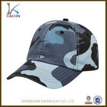 высокое качество хлопка изготовленный на заказ бейсбольная кепка камуфляж