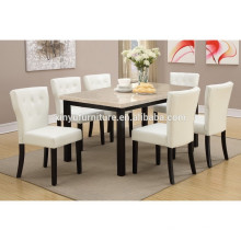Modern style dining table and chair set XYN1471