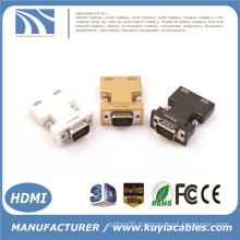 HDMI Female to VGA Male Mini 1080P HD Cable Converter Adapter with Audio Cable