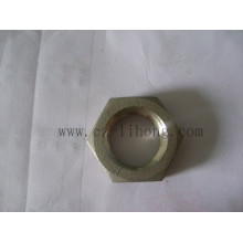 "2-1/2"" Stainless Steel 316 DIN2999 Hex Nut"