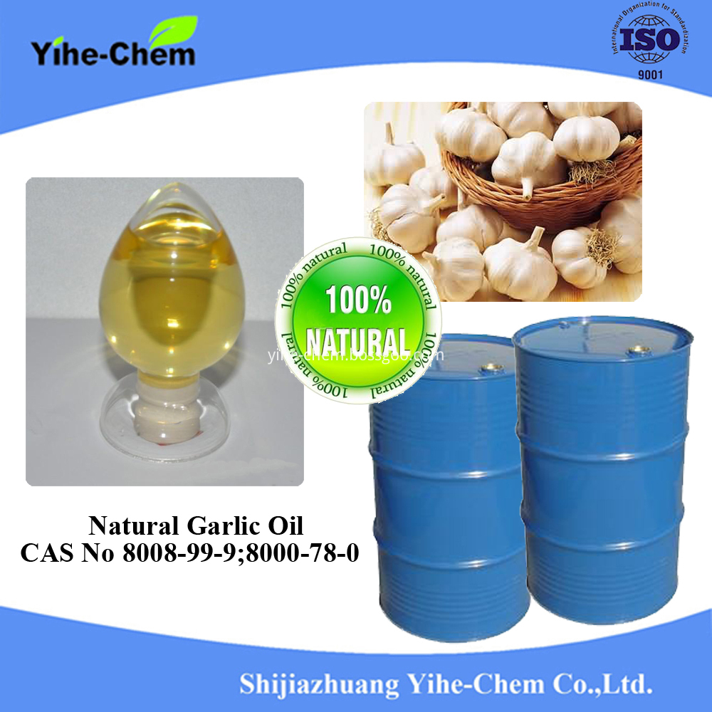 Natural Garlic Oil