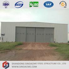 Sliding Door Portal Frame Structure Aircraft Hangar